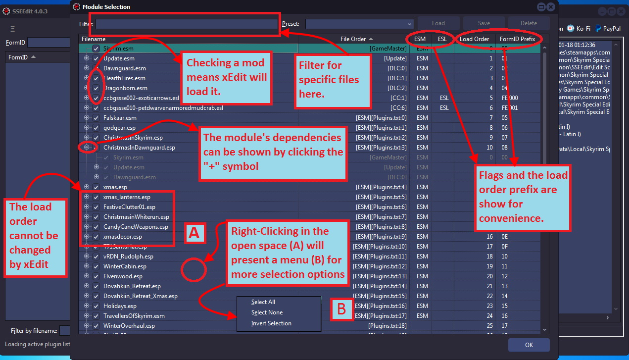Xedit Overview Tome Of Xedit Creating this patch also helps you determine the best load order placement for your mods as you can see which. xedit overview tome of xedit